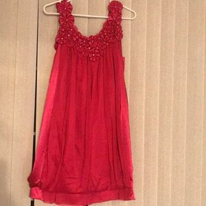 NWT hot pink dress in medium